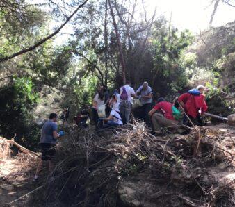 Limpieza Río Seco STV