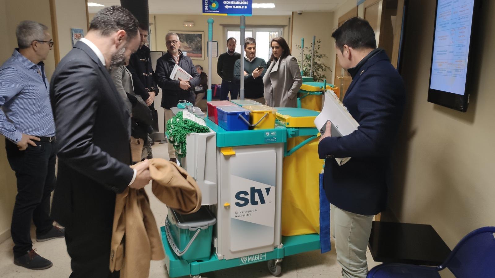 Cuenca limpieza sanitaria STV Gestión