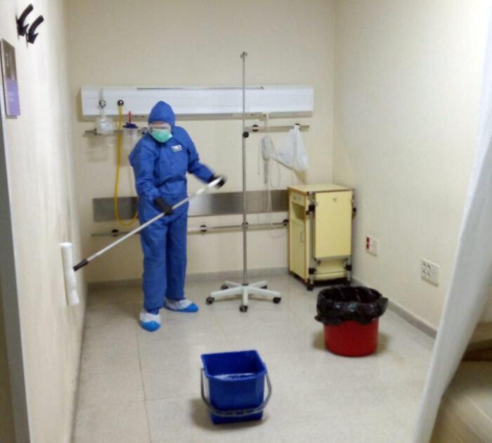 Desinfección STV COVID-19