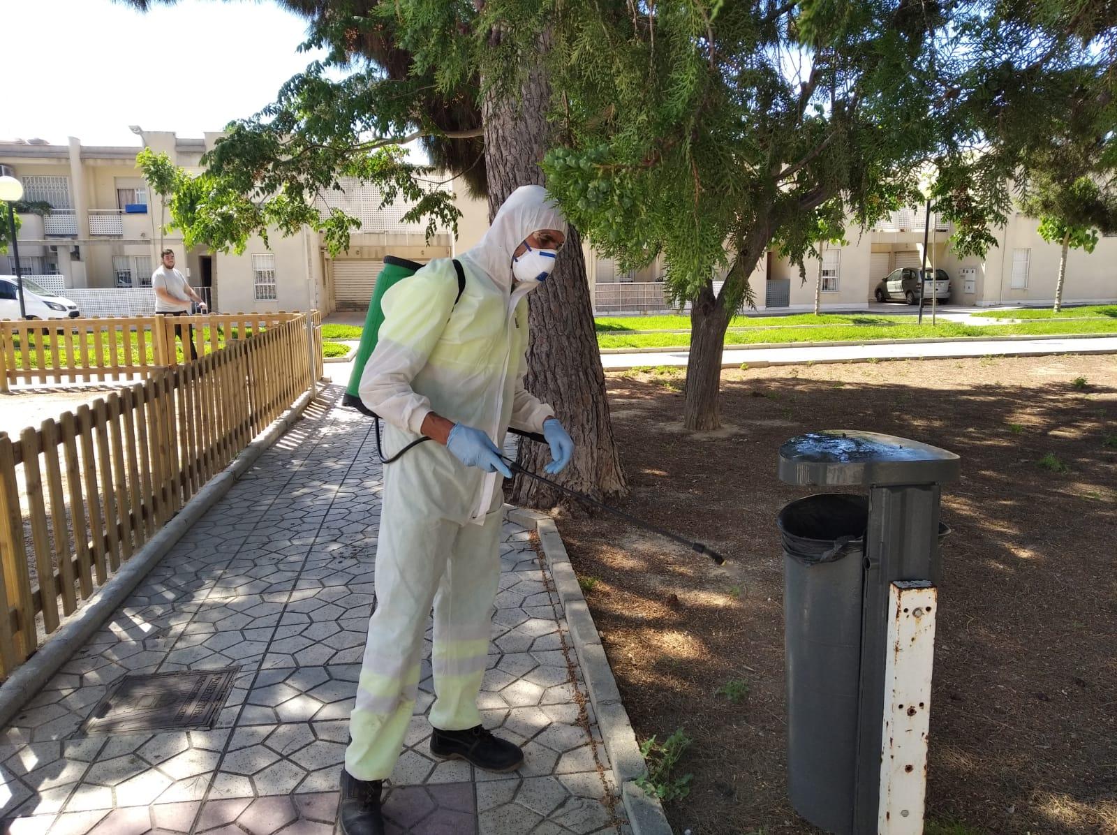 Desinfección espacios públicos STV Gestión 1